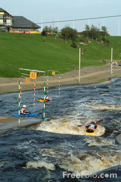 Picture of White Water Course, River Tees, Stockton on Tees - Free Pictures - FreeFoto.com