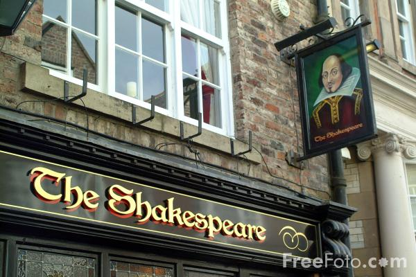 Picture of The Shakespeare Pub, Durham City - Free Pictures - FreeFoto.com