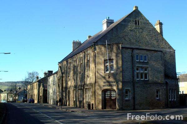 Picture of Town Hall, Stanhope - Free Pictures - FreeFoto.com
