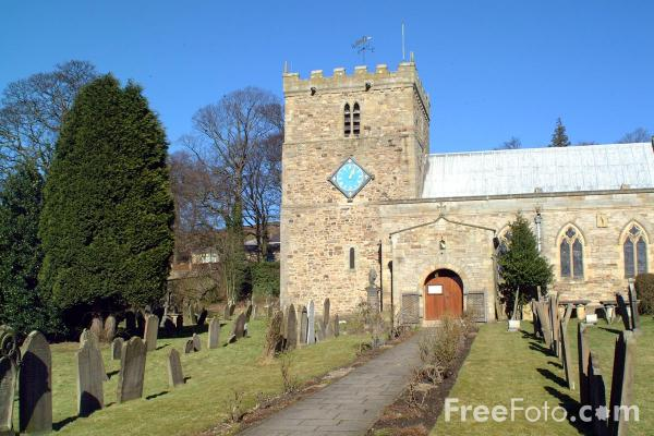 Picture of The Church of St Thomas, Stanhope - Free Pictures - FreeFoto.com