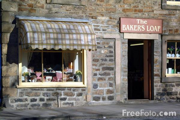 Picture of The Bakers Loaf, Stanhope - Free Pictures - FreeFoto.com