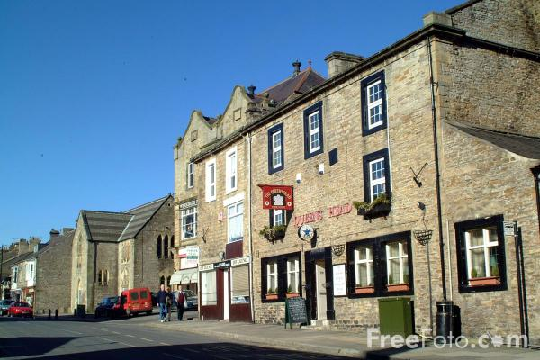 Picture of Queens Head, Stanhope - Free Pictures - FreeFoto.com