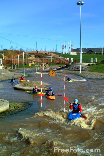 Picture of White Water Course, River Tees, Stockton - Free Pictures - FreeFoto.com