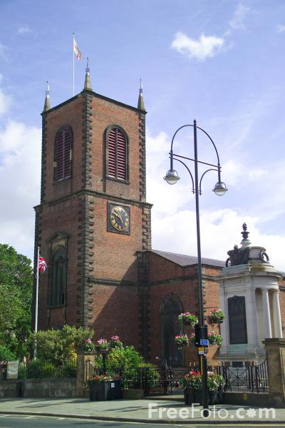 Picture of Stockton on Tees Parish Church - Free Pictures - FreeFoto.com