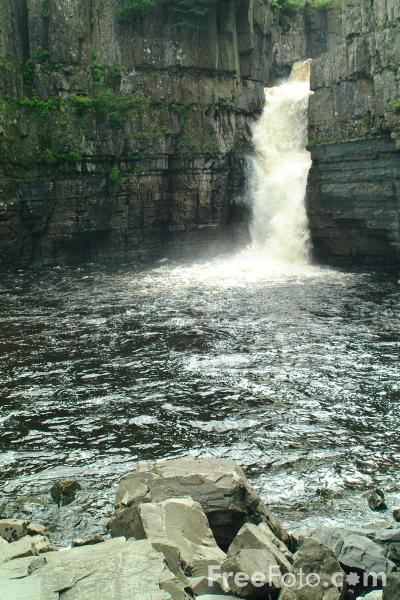 Picture of High Force Waterfall - Free Pictures - FreeFoto.com
