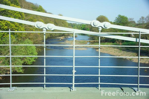 Picture of River Tees, Whorlton, County Durham - Free Pictures - FreeFoto.com