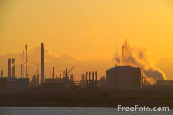 Picture of Sunet, Industry, Teesmouth - Free Pictures - FreeFoto.com