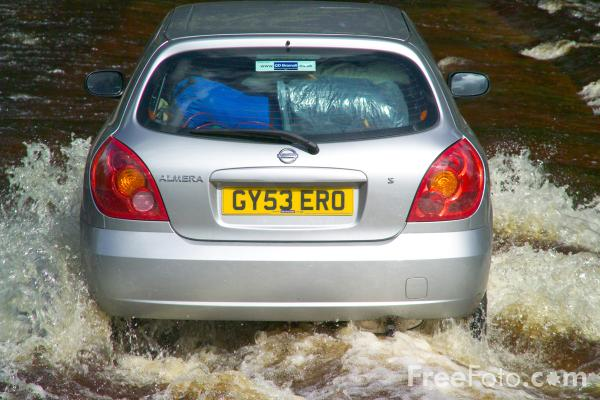 Picture of Stanhope Ford, River Wear, Weardale - Free Pictures - FreeFoto.com