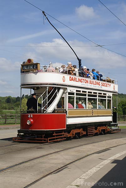Picture of 1901 built Blackpool Tram Number 31 - Free Pictures - FreeFoto.com