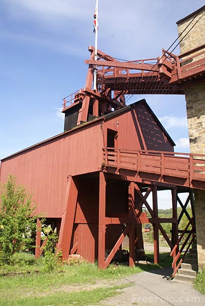Picture of The coal mine at Beamish Museum - Free Pictures - FreeFoto.com