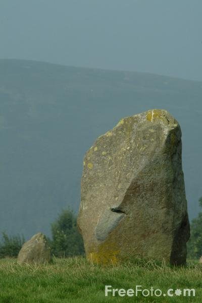 Picture of Castlerigg  Stone Circle, Keswick, The Lake District - Free Pictures - FreeFoto.com
