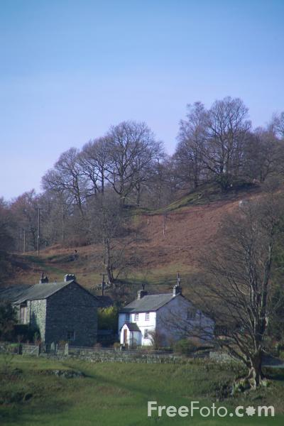 Picture of Loughrigg Tarn, The Lake District - Free Pictures - FreeFoto.com
