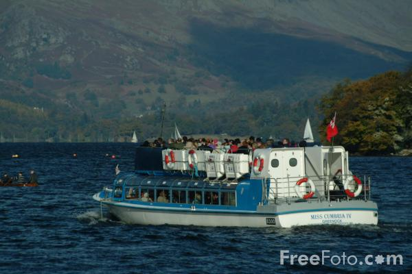 Picture of Ferry, Lake Windermere, The Lake District - Free Pictures - FreeFoto.com