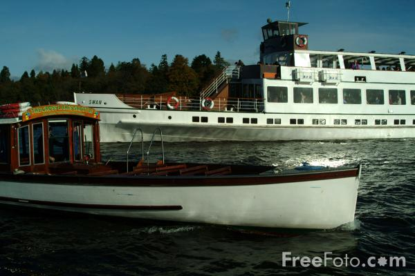 Picture of The Cross Lakes Shuttle, Lake Windermere, The Lake District - Free Pictures - FreeFoto.com