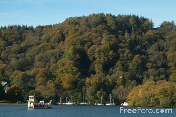 Picture of Windermere Ferry, Lake Windermere, The Lake District - Free Pictures - FreeFoto.com