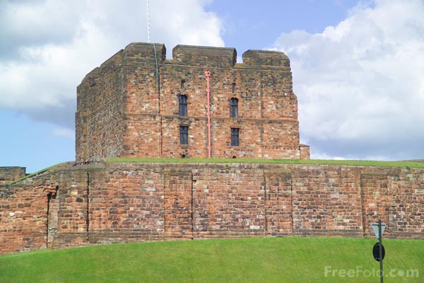 Picture of Carlisle Castle - Free Pictures - FreeFoto.com