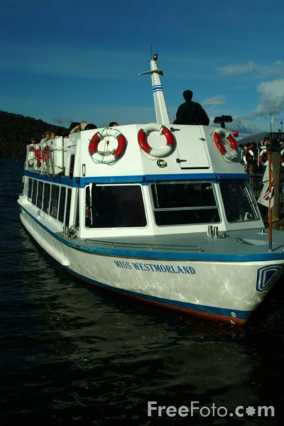 Picture of Passenger Ferry, Lake Windermere, The Lake District - Free Pictures - FreeFoto.com