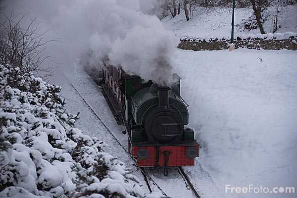 Picture of The Tanfield Railway in winter - Free Pictures - FreeFoto.com