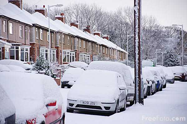 Picture of Winter 2010 in Gateshead - Free Pictures - FreeFoto.com