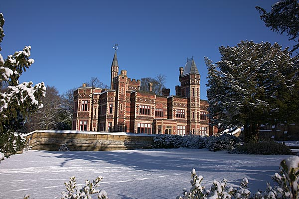 Picture of Saltwell Park, Gateshead in Winter - Free Pictures - FreeFoto.com