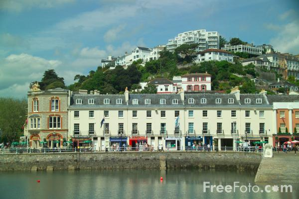 Picture of Torquay Harbour, Torquay, Devon - Free Pictures - FreeFoto.com