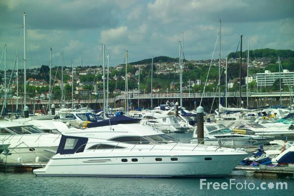 Picture of Torquay Marina, Devon - Free Pictures - FreeFoto.com