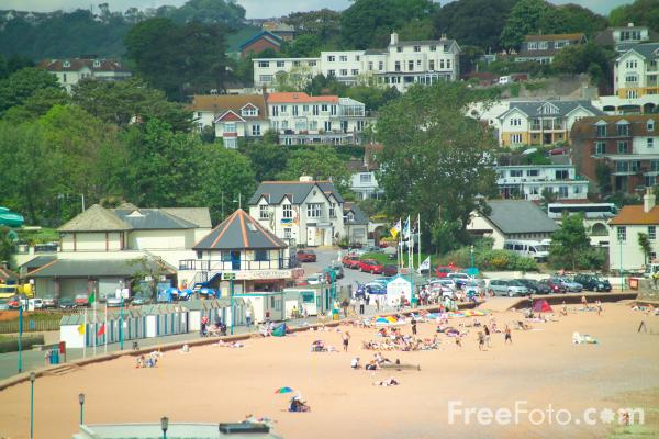 Picture of Goodrington Beach, Paignton, Devon - Free Pictures - FreeFoto.com