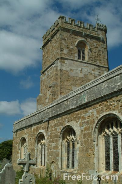 Picture of The Parish Church of St. Nicholas in Abbotsbury, Dorset, England - Free Pictures - FreeFoto.com