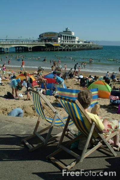 Picture of Bournemouth Seafront - Free Pictures - FreeFoto.com
