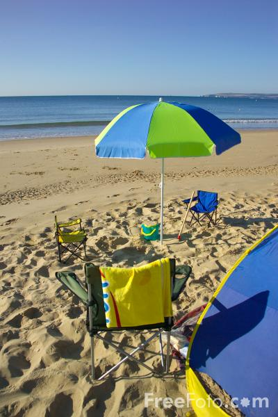 Picture of Bournemouth Beach, Dorset, England. - Free Pictures - FreeFoto.com