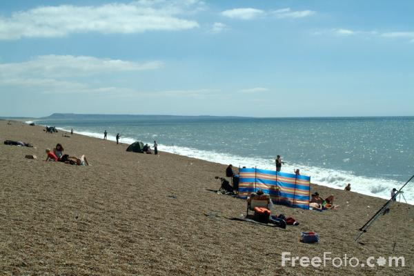 Picture of Chesil Beach, Dorset, England - Free Pictures - FreeFoto.com