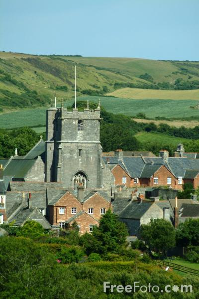 Picture of St. Edward's Church, Corfe Castle, Dorset - Free Pictures - FreeFoto.com