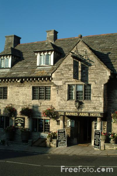 Picture of The Bankes Arms Hotel, Corfe Castle, Dorset - Free Pictures - FreeFoto.com
