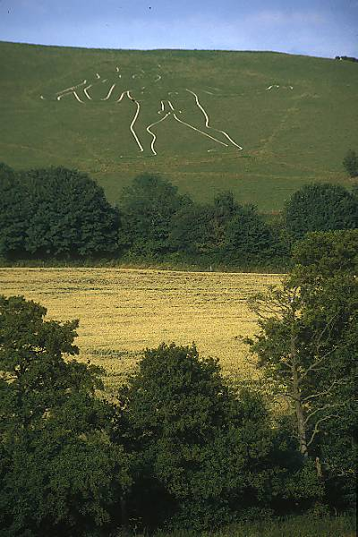 Picture of Cerne Abbas Giant, Dorset - Free Pictures - FreeFoto.com