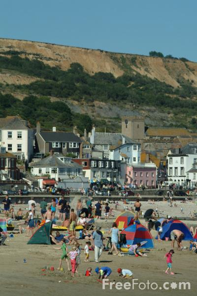 Picture of Sea Front, Lyme Regis, Dorset, England - Free Pictures - FreeFoto.com