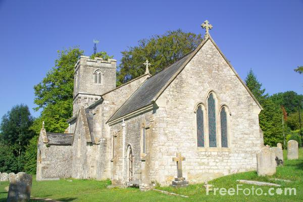 Picture of St John's Church, Tolpuddle, Dorset - Free Pictures - FreeFoto.com