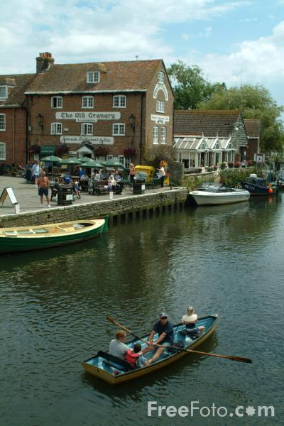 Picture of Wareham Quay, Dorset - Free Pictures - FreeFoto.com