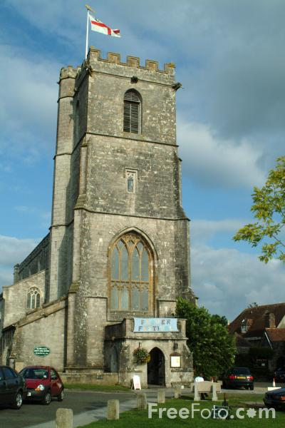 Picture of St. Mary's Church, Wareham, Dorset - Free Pictures - FreeFoto.com