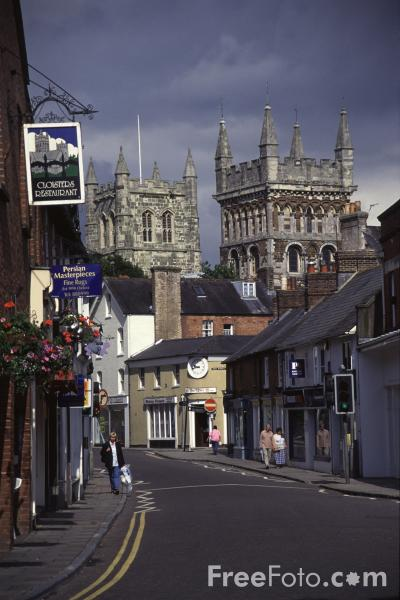 Picture of East Street, Wimborne Minster - Free Pictures - FreeFoto.com