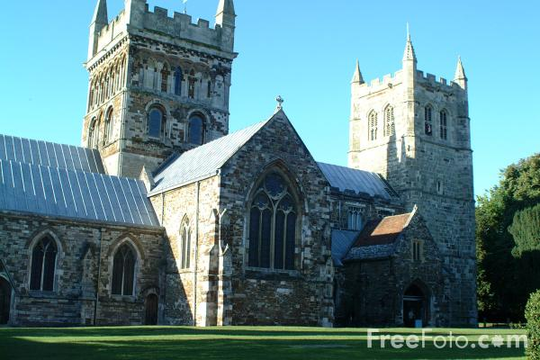 Picture of Minster Church, Wimborne Minster, Dorset - Free Pictures - FreeFoto.com