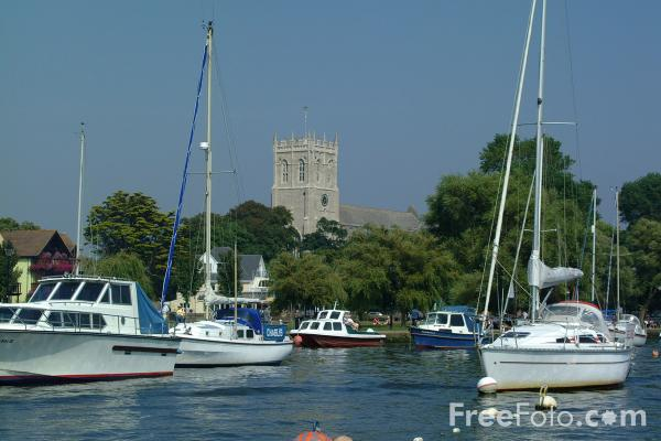 Picture of Christchurch Harbour, Christchurch, Dorset - Free Pictures - FreeFoto.com