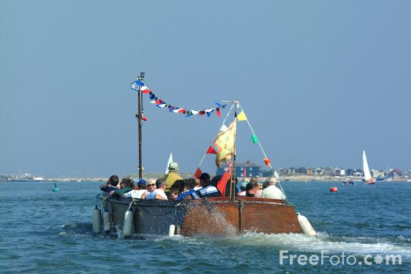 Picture of Christchurch - Hengistbury Head Ferry - Free Pictures - FreeFoto.com