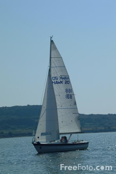 Picture of Sailing, Christchurch, Dorset - Free Pictures - FreeFoto.com