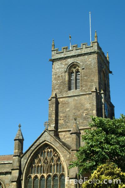 Picture of Medieval Parish Church, Bridport, Dorset, England - Free Pictures - FreeFoto.com