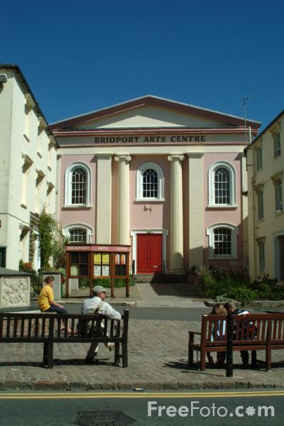 Picture of Bridport Arts Centre, Dorset, England - Free Pictures - FreeFoto.com