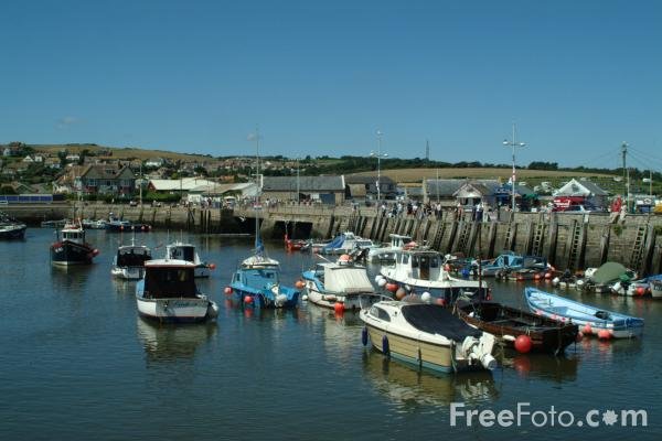 Picture of West Bay, Dorset - Free Pictures - FreeFoto.com