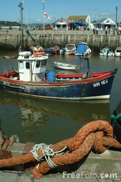 Picture of Fishing Boat, West Bay, Dorset - Free Pictures - FreeFoto.com