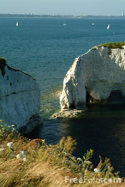 Picture of Old Harry Rocks, Dorset - Free Pictures - FreeFoto.com