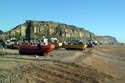 Image Ref: 1015-04-10 - Britain's biggest fleet of beach-launched fishing boats at Hastings, Viewed 5835 times
