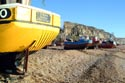 Image Ref: 1015-04-15 - Britain's biggest fleet of beach-launched fishing boats at Hastings, Viewed 4439 times